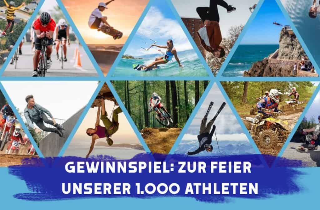 Gewinnspiel 1000 Athleten